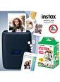 Fujifilm Instax mini Link Mavi Akıllı Telefon Yazıcısı ve 20'li mini Film Mavi